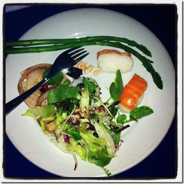 Prato de Salada da Rafain Show