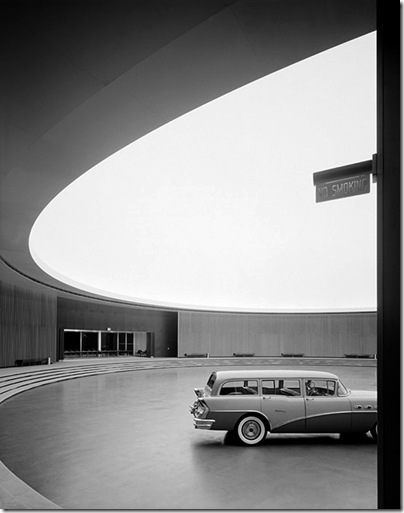 Ezra Stoller_General Motors Technical Center, Eero Saarinen, Warren, MI, 1950