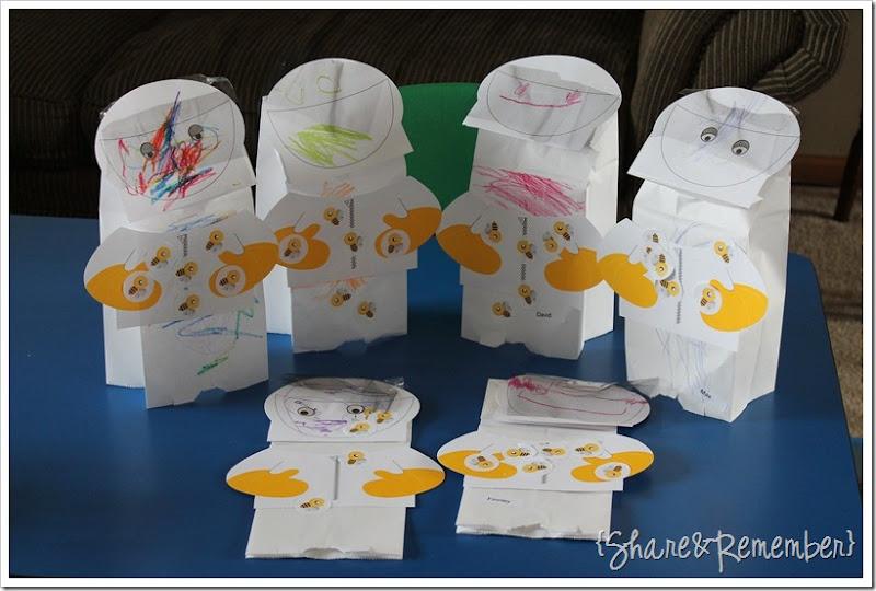 Beekeepers preschool puppets