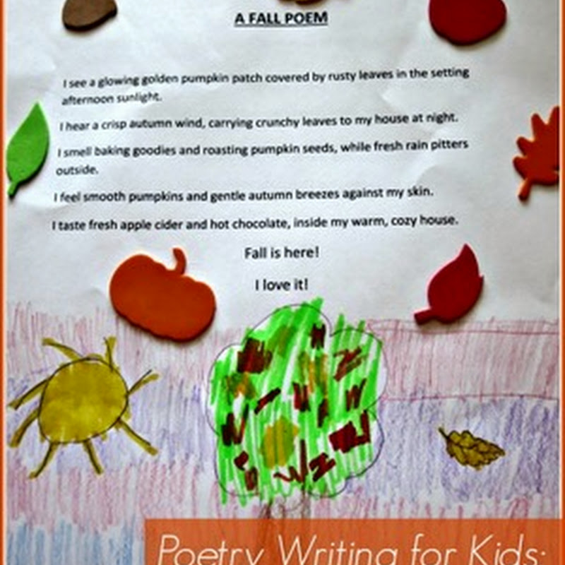 Poetry Writing for Kids – Sensory Poems