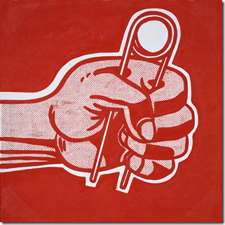 Roy Lichtenstein The Grip