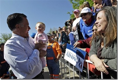Romney Meeting and Greeting