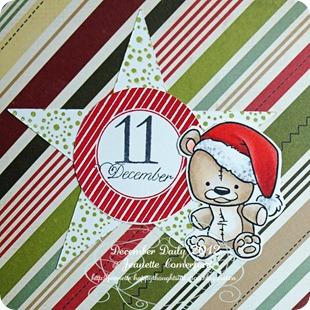 December Daily # 11 closea