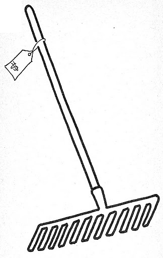 rakes coloring pages - photo#16