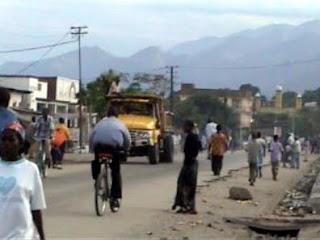 Une vue de la ville d'Uvira. burunditransparence.org