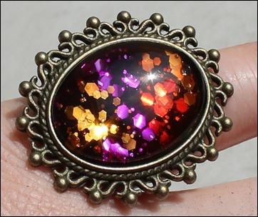 Kupfer-Rot-Pink_Glitter Ring 2