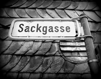 Sackgasse - Foto von http://die-beste-juppi.blogspot.de/
