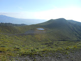 Small lake at the eastern end of Gunung Kaba (Dan Quinn, August 2013)