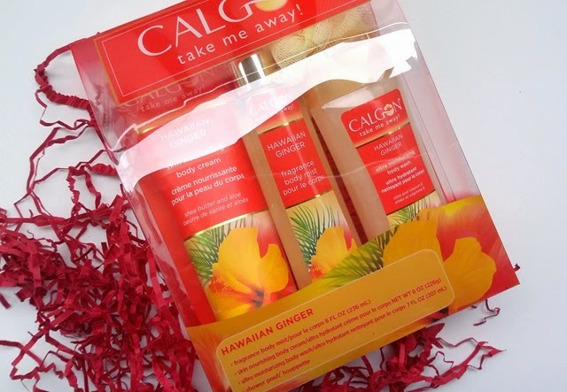 Calgon Hawaiian Ginger Gift Set Review