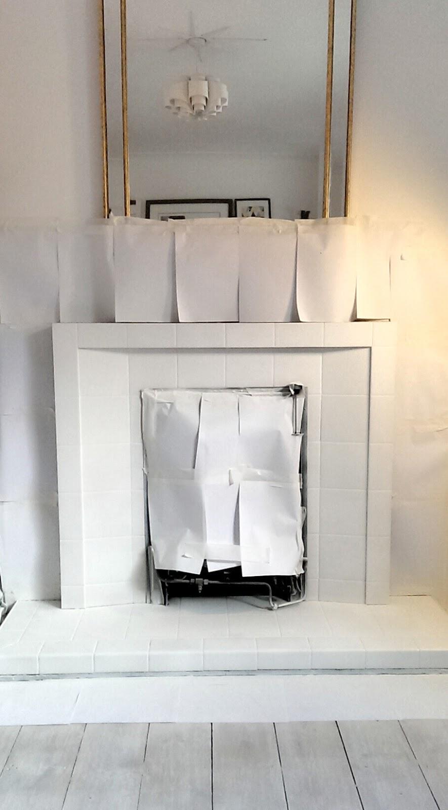 nostalgiecat: Fireplace makeover