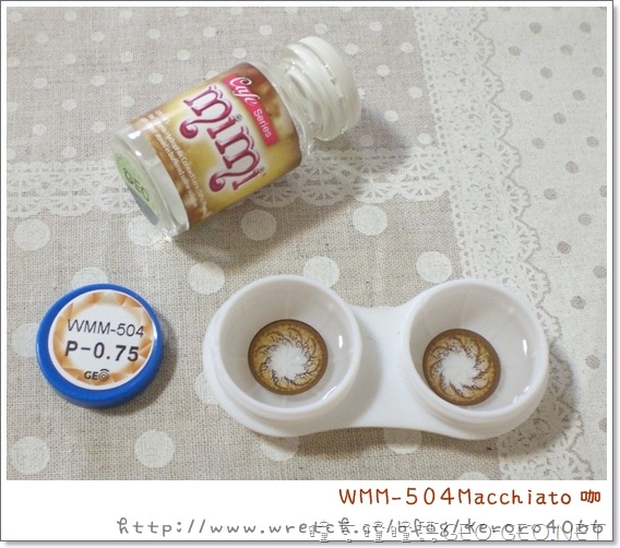 GEO隱形眼鏡WMM-504Macchiato咖