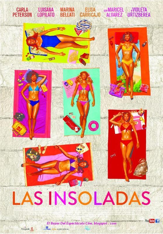 Las insoladas poster pelicula argentina fecha de estreno for Portales de chimentos del espectaculo