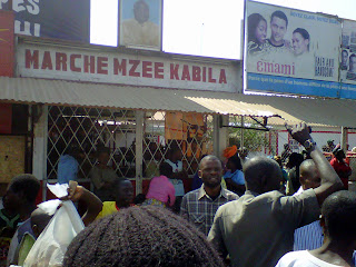 Une vue du march Mzee Kabila  Lubumbashi (RDC). Ph. Radio Okapi