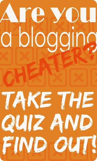 blogging cheater
