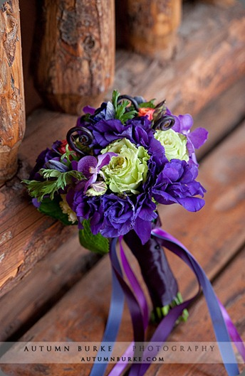 bella fiori bridesmaid bouquet of purple and green bella fiori