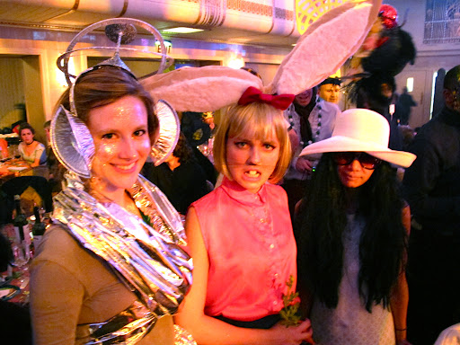 Some wonderfully costume-clad attendees. Everyone was so creative with their outfits.