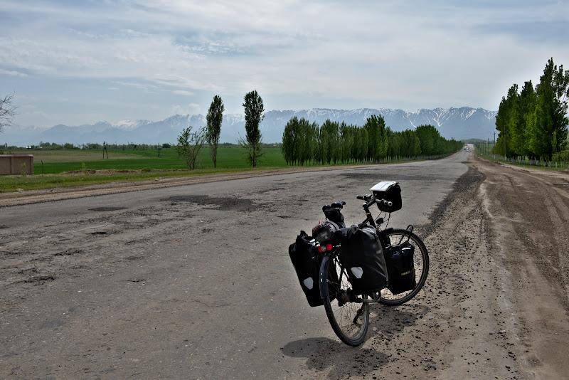 Drumul catre munte.