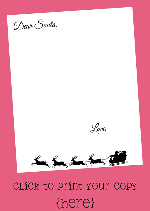 Santa Letter Download