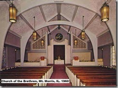 1960 Wedding  Church of the Brethren