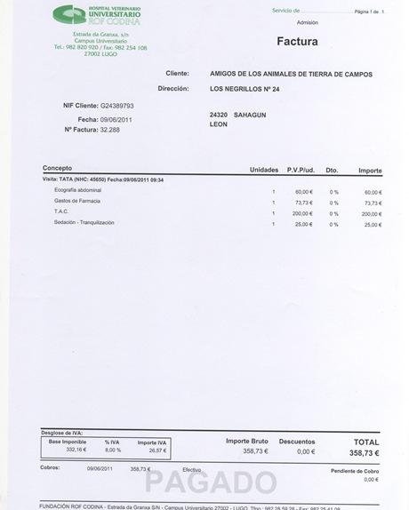 Factura Tata