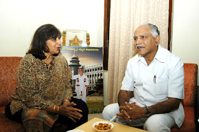 With Kiran Mazumdar Shaw, Chairman & Managing Director of Biocon Ltd.