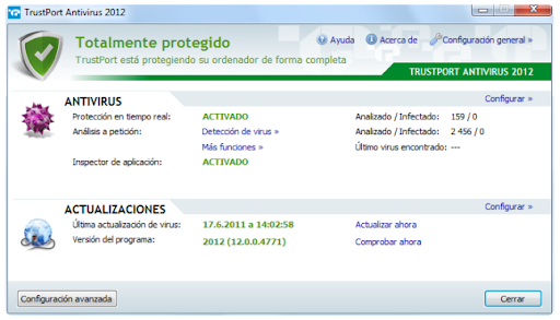 Descargar TrustPort Antivirus 2011 gratis