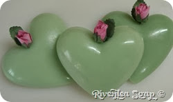 More valentine hearts green (7)