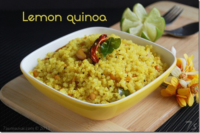 Lemon quinoa