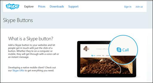 Como colocar o botão do Skype no seu blog - Visual Dicas