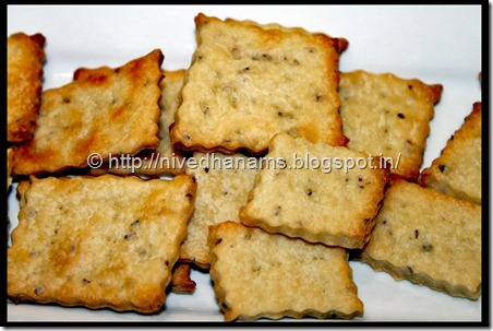 Ajwain Biscuits - IMG_6700