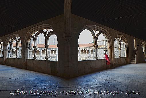 Glória Ishizaka - Mosteiro de Alcobaça - 2012 - 67 - claustro de D. Dinis