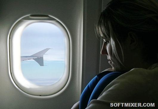 В-самолете