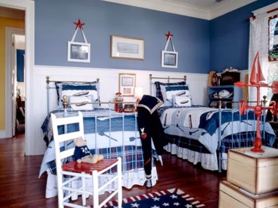 patriotic-boys-bedroom-for-two1-554x415