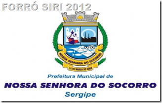 FORRÓ SIRI 2012