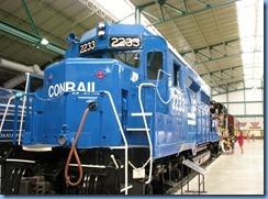 1855 Pennsylvania - Strasburg, PA - Railroad Museum of Pennsylvania - 1963 Conrail No. 2233