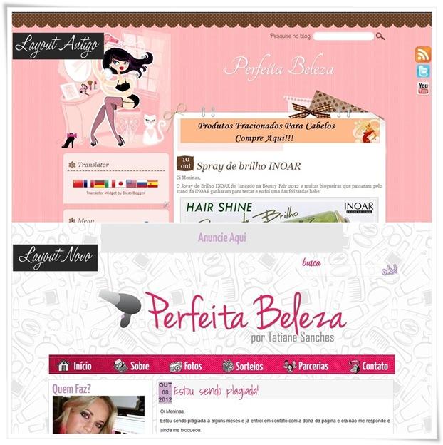 blog com layout novo