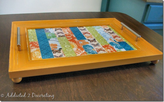 serving tray made from frame 1