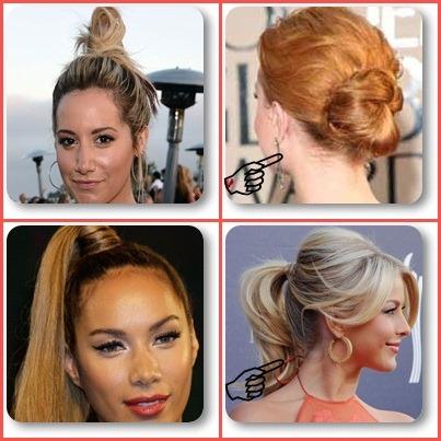 Penteado para cabelos oleosos