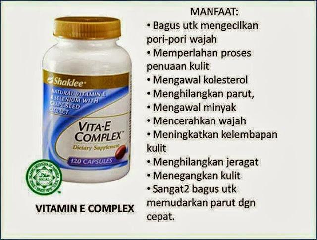 Vitamin E shaklee, Rahsi Kulit Cantik, Pencerahan kulit, Vitamin kecantikkan, Melembutkan kulit, Hilang parut, Kolagen semulajadi