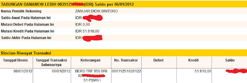 Bukti Pembayaran Digieclub.com (Pembayaran Ketiga)