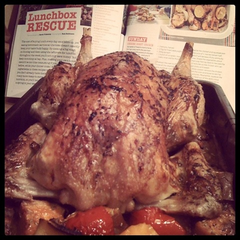 #23 - Jamie Oliver Magazine's Sunshine roast chicken hot out the oven