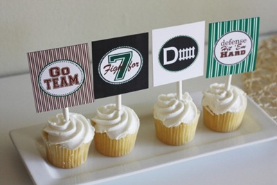 Free Football Printables at Catch My Party