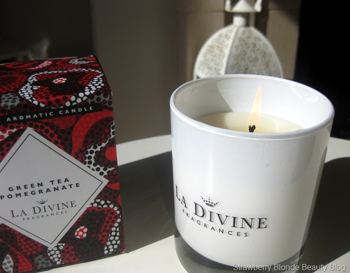 La-Divine-Fragrances-Green-Tea Pomegranate-Candle