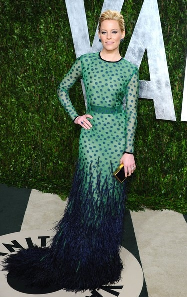Elizabeth Banks 2012 Vanity Fair Oscar Party