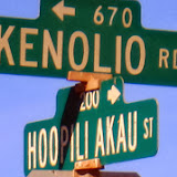 Nearest intersection to Betsill site, as Kenolio ends at yard