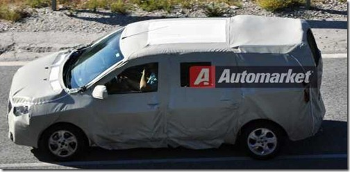 Dacia MPV Popster Spionage 04