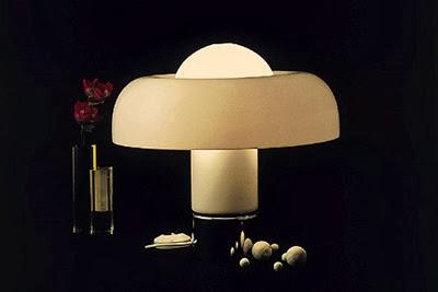 Luigi Massoni Brumbry lamp by Guzzini