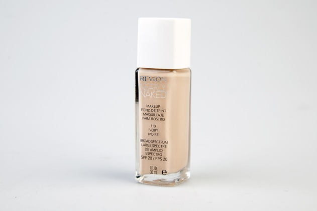 revlon nearly naked foundation review ivory swatches