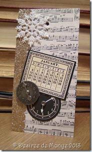 Susan's calendar - January