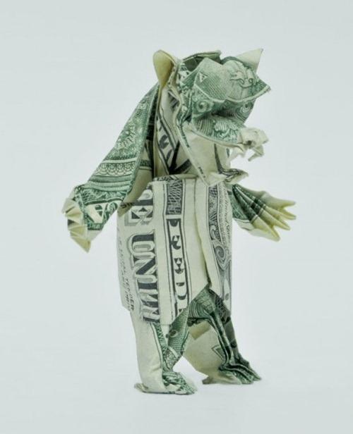 Origami de dinheiro 10